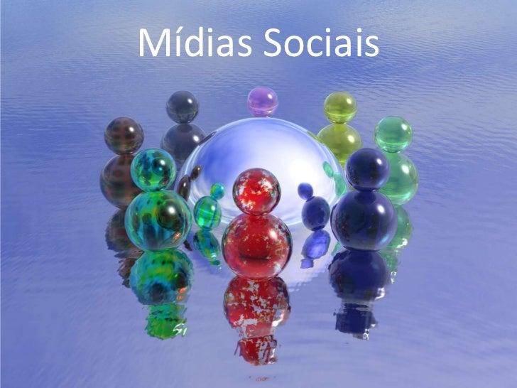 Mídias Sociais<br />