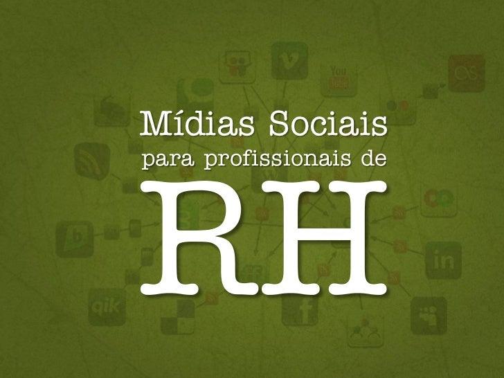 Mídias Sociaispara profissionais de