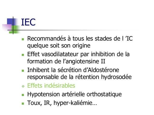 Médicaments en cardiologie