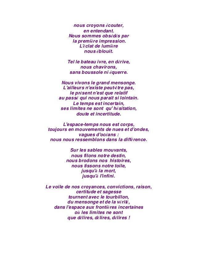 Méditations En Poème Au Miroir Des Souvenirs