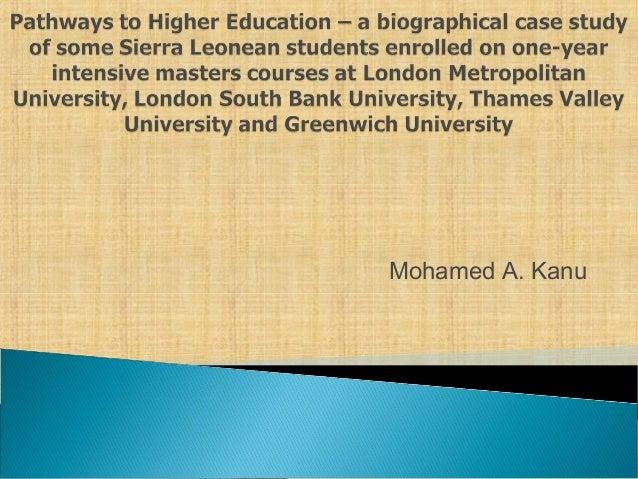 Mohamed A. Kanu