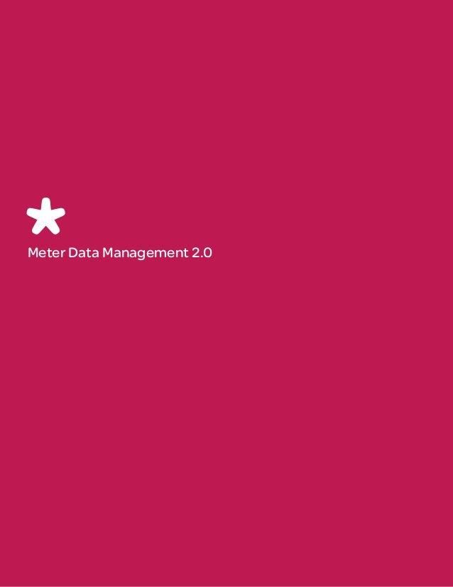 Meter Data Management 2.0