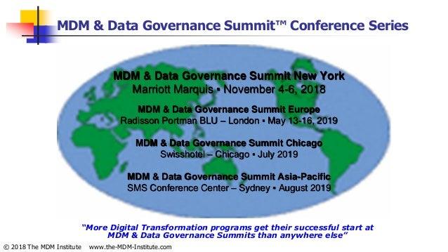 MDM, Data Governance, RDM Solution Providers 'that matter