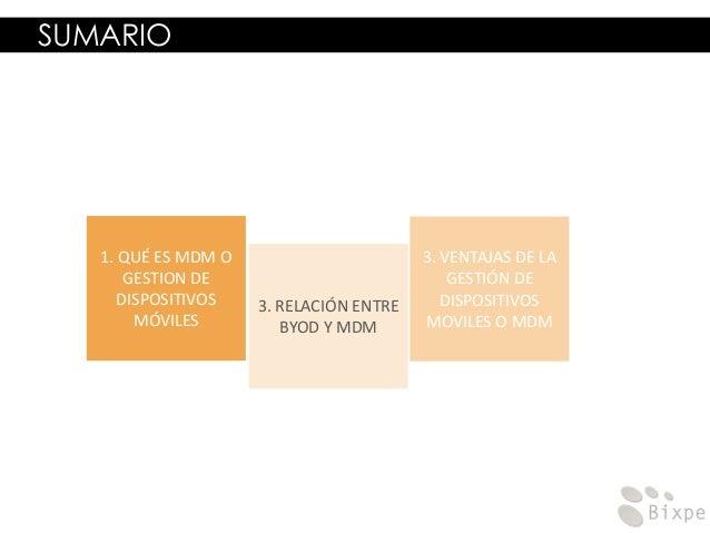 MDM - Gestión de dispositivos móviles Slide 2