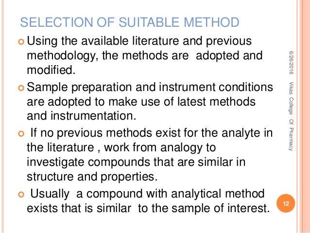 method development hplc thesis