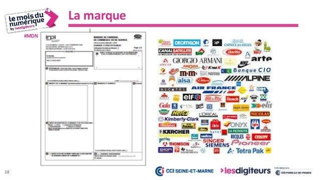 #MDN2017 Vérifier la disponibilité d'une marque Mener une recherche sur les signes distinctifs 2- Base marques 39