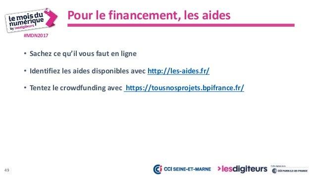 #MDN2017 • Faites vos formalités d'entreprise en ligne avec http://www.cfenet.cci.fr/ • Faites vos déclarations INPI, CNIL...