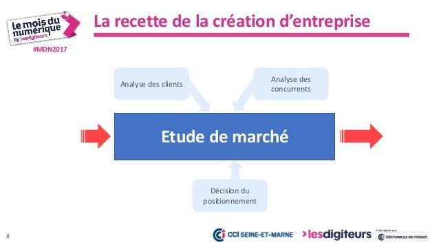 #MDN2017 Le contexte, les forces et faiblesses du marché Vision – Mission - Stratégie Analyse des clients et concurrents O...