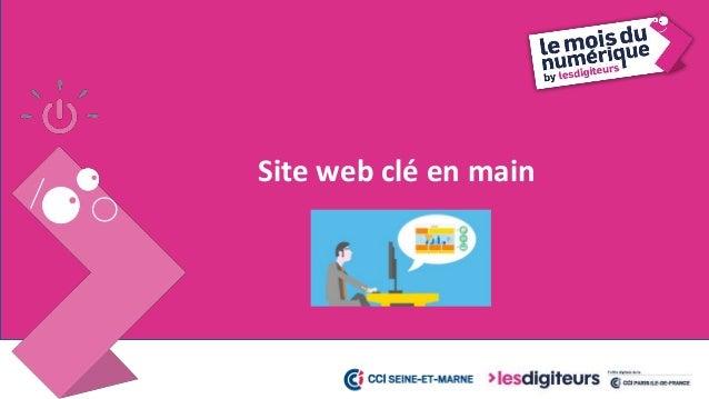 #MDN2017 Site web clé en main 14 Les experts Orange s'occupent de tout pour que vos clients vous retrouvent sur le web : •...