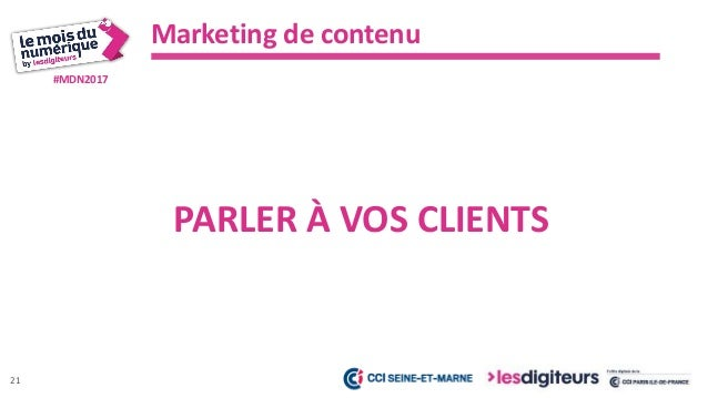 #MDN2017 Marketing de contenu 22