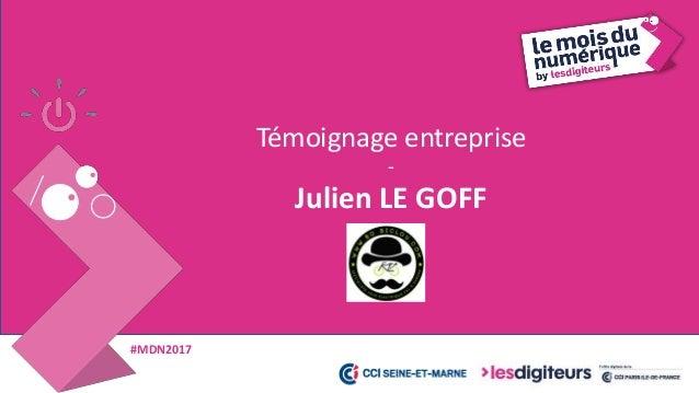 #MDN2017 Julien LE GOFF, BO BICLOU 39