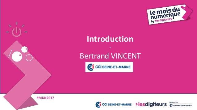 #MDN2017 Marketing de contenu - Julien BRÉAL
