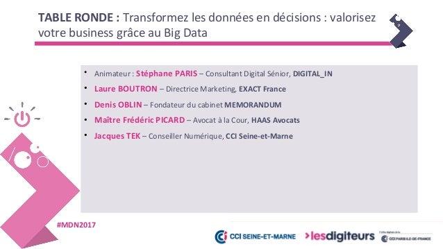 #MDN2017 Introduction - Stéphane PARIS