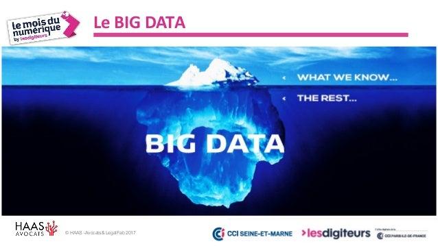 #MDN2017 © HAAS -Avocats& LegalFab 2017 Big Data et IA Data IAAlgorithme