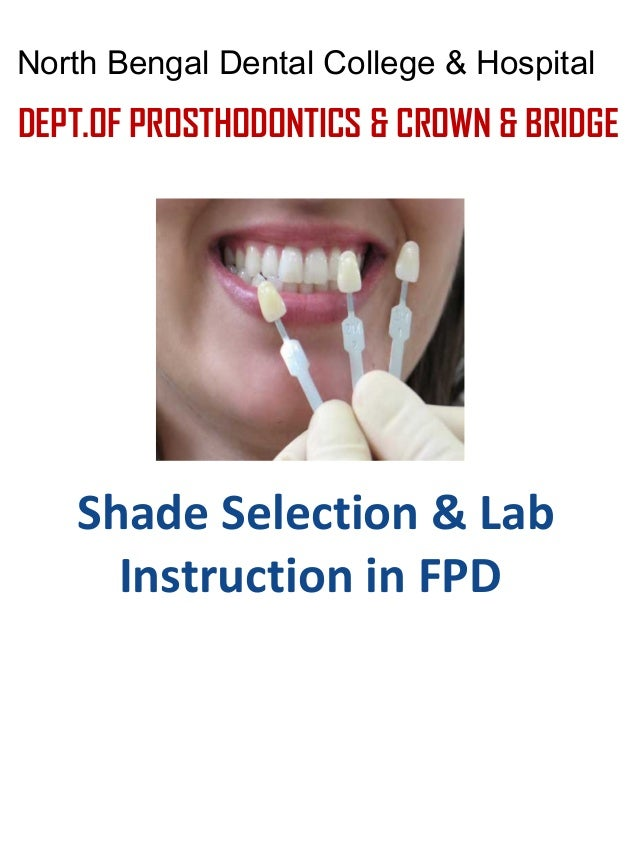 Shade Selection For Fpd