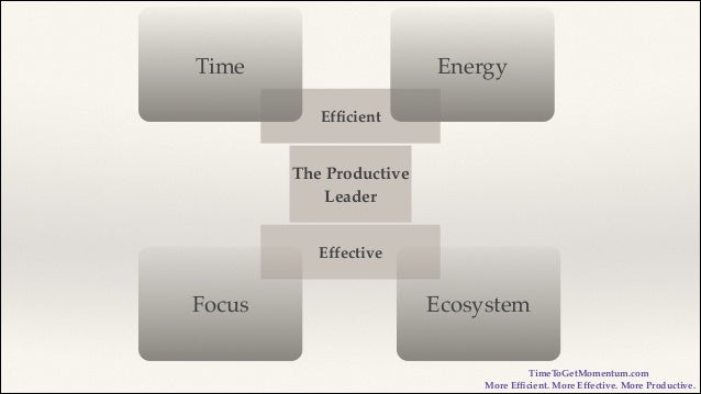 productive leadership I addressed the fundamental issues with productivity i write about leadership development and the 3 forces that drive improved productivity.