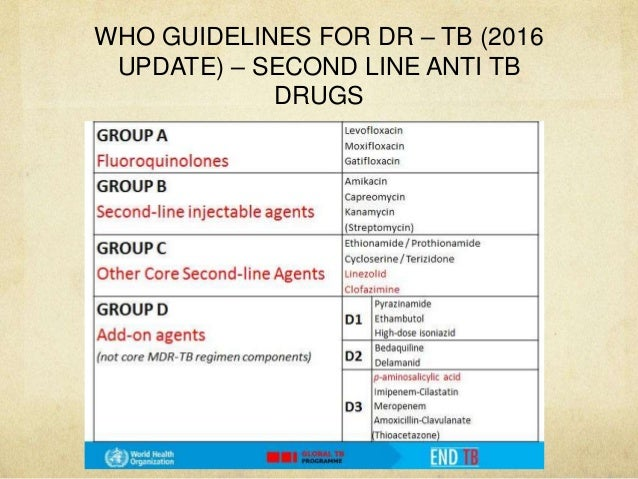 mdr tb treatment regimen