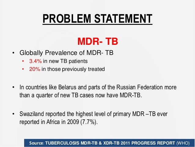 mdr tb research paper Introduction there are significant financial barriers to access treatment for multi drug resistant tuberculosis (mdr-tb) in india to address these challenges, chhattisgarh state in india has.