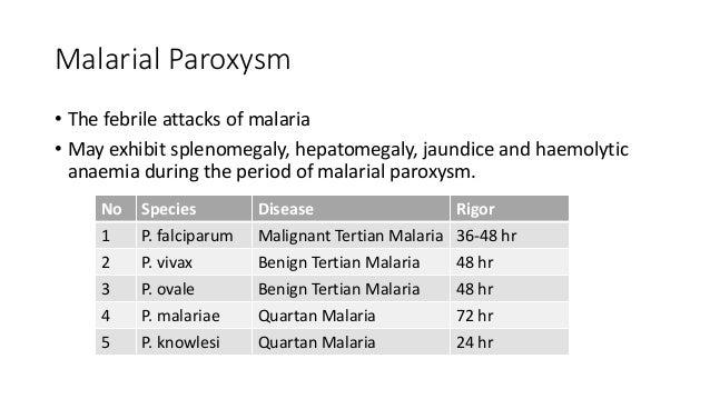 paediatric malaria ppt