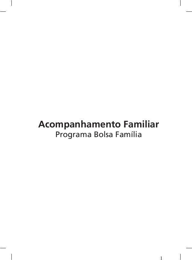 Acompanhamento Familiar Programa Bolsa Família