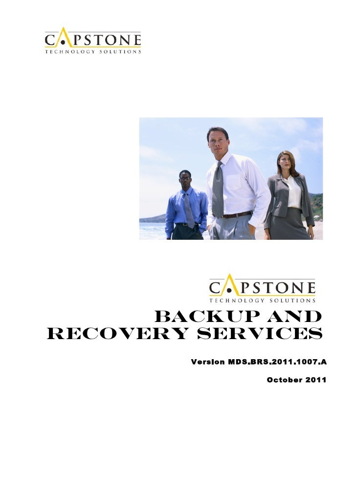 Backup andRecovery Services        Version MDS.BRS.2011.1007.A                       October 2011