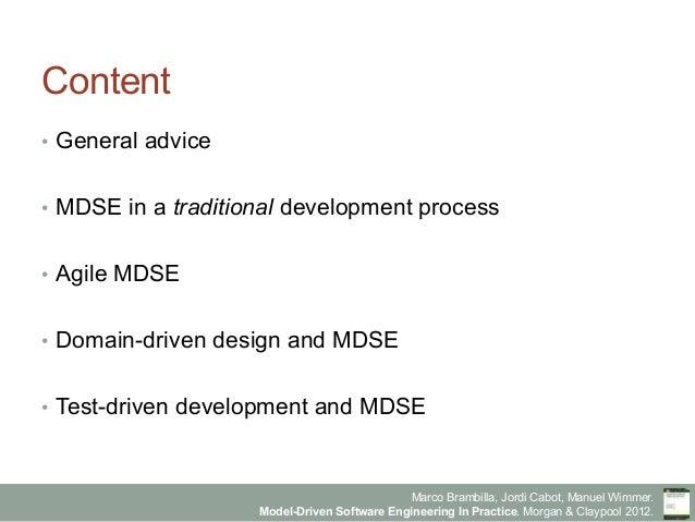 Model-Driven Software Engineering in Practice - Chapter 5 - Integration of Model-driven in development processes Slide 2