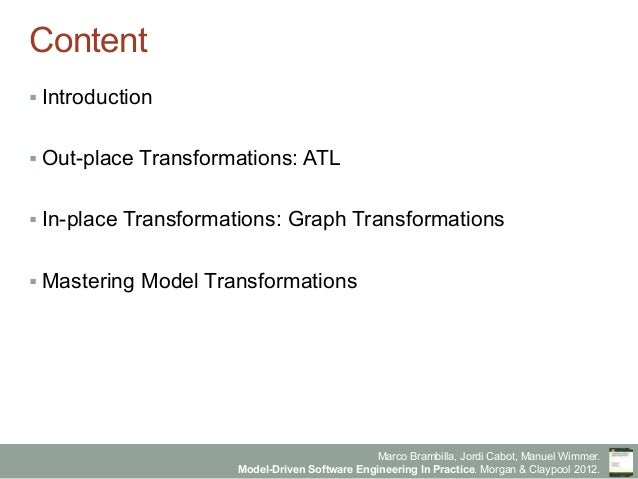 Model-Driven Software Engineering in Practice - Chapter 8 - Model-to-model transformations Slide 2