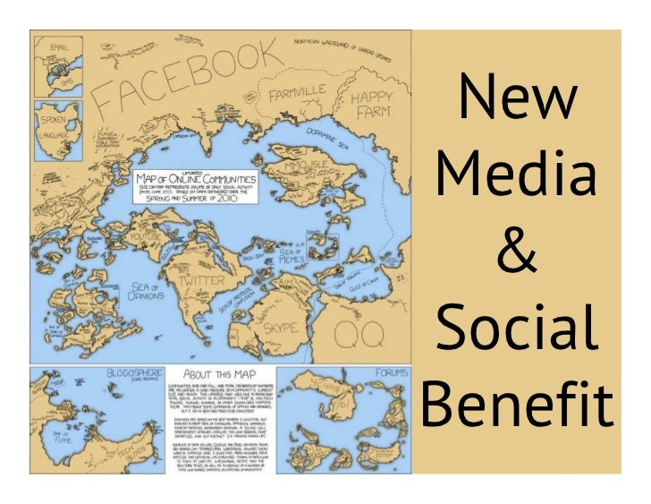 NewMedia  &SocialBenefit