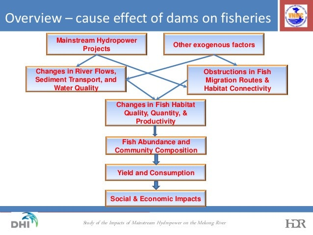 a discussion on the effects of river damming In a case study of dams on the upper missouri river, usgs researchers have  demonstrated that an upstream dam is still a major control of river.
