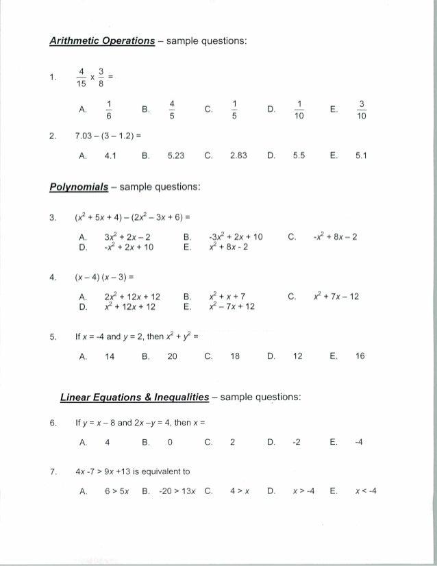 MDTP Algebra Test - Practice Test & Guide