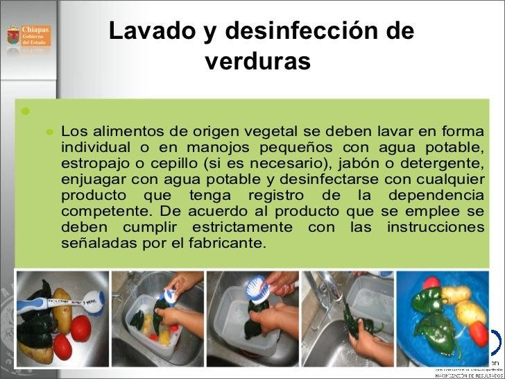 M dulo 5 operaci n restaurantes v3 for Manual de limpieza y desinfeccion en restaurantes