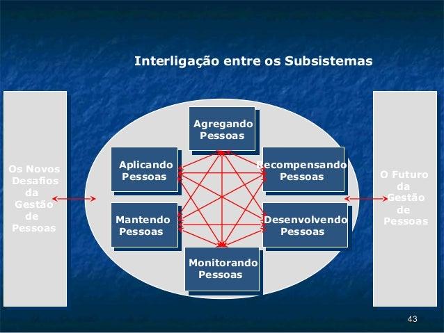 Interligação entre os Subsistemas                       Agregando                        PessoasOs Novos   Aplicando      ...