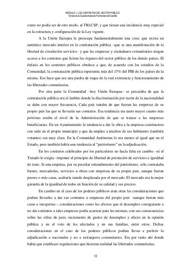 M dulo 1 los contratos del sector p blico for Validez acuerdo privado clausula suelo