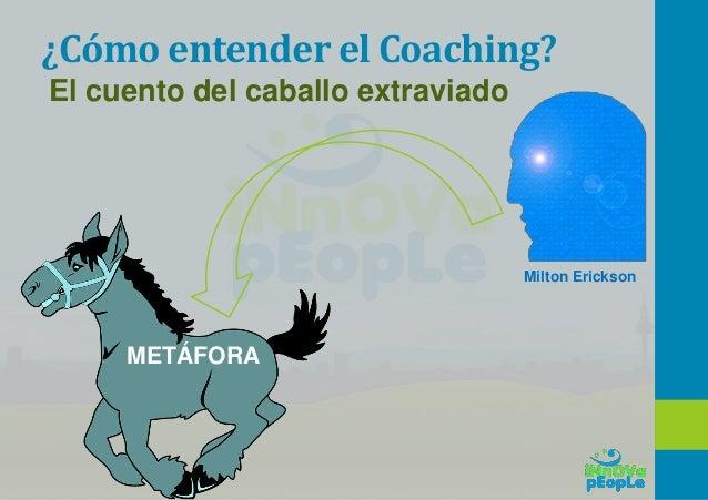 ¿Cómo trabaja un coach? • Desde su centro • Provoca la reflexión desde la pregunta • Genera curiosidad • Lo hace con empat...