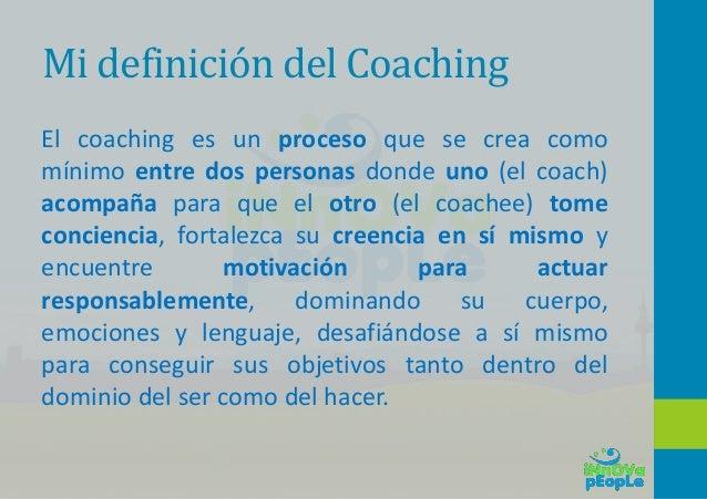 2 – Coaching aplicado a la educación.