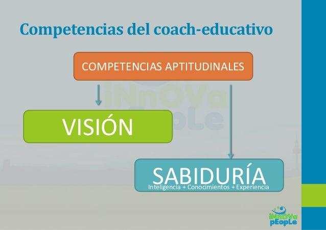 Competencias del coach-educativo HERRAMIENTAS DEL COACH COMPETENCIAS TÉCNICAS