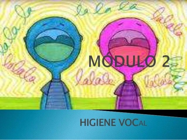 HIGIENE VOCAL