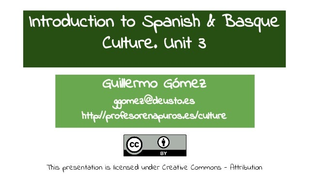 "Introduction to the Spanish & Basque Culture 3: ""From dictatorship to democracy"" & ""Are we so informal as we seem to be?"""