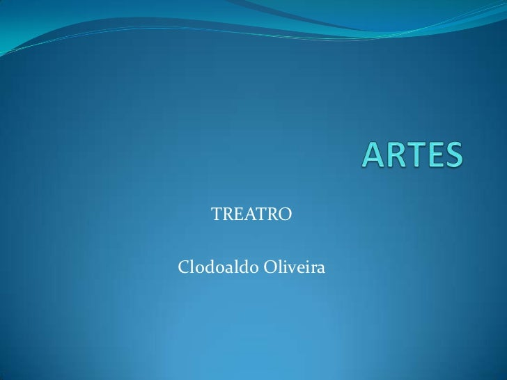 TREATROClodoaldo Oliveira