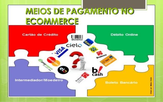 MEIOS DE PAGAMENTO NO ECOMMERCE