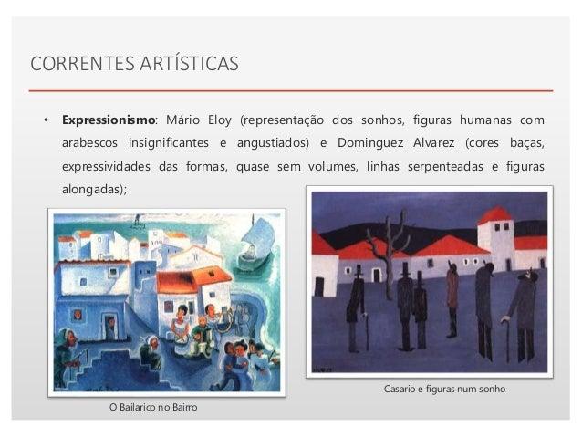 Click to edit Master text styles• Neorrealismo: Júlio Pomar; representação do mundo do trabalho com verismo e expressivida...