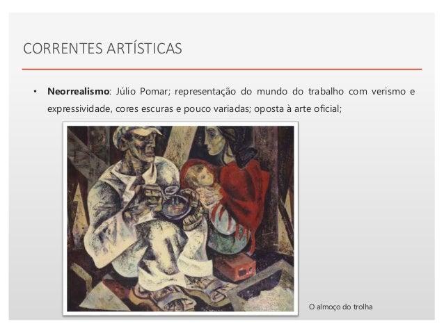 Click to edit Master text styles• Surrealismo: Mário Césariny, imagética brutalista/informalista com colagens e frottages,...