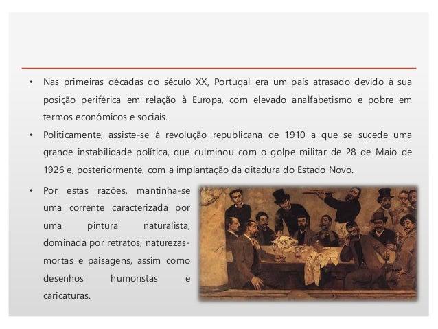 Click to edit Master text styles• O Modernismo entrou em Portugal pelo humor, pela caricatura e pela ilustração, dando-se ...