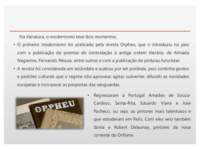 Click to edit Master text styles NA PINTURA Primeiro Modernismo (1911-1918): • Destes regressos resultou a formação de doi...