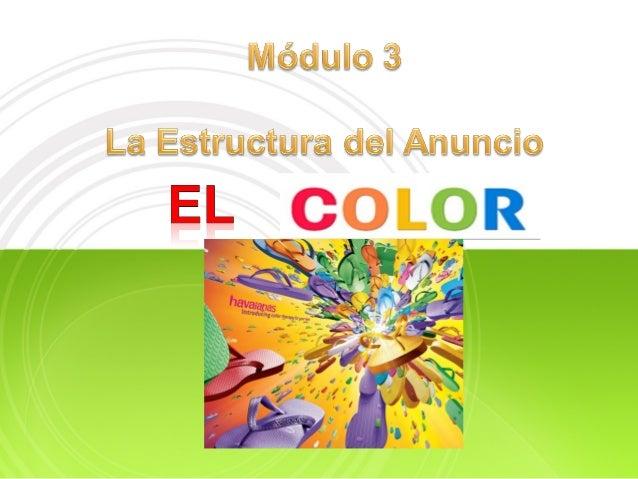 Módulo color Slide 2