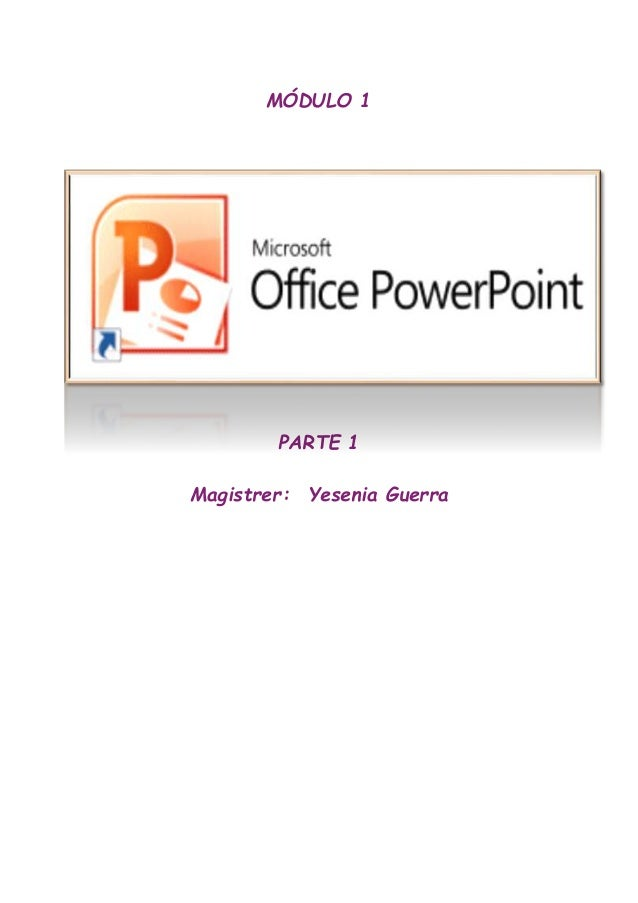 Módulo De Power Point