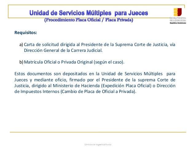 M dulo i sistema de carrera judicial for Direccion de ministerio de interior y justicia