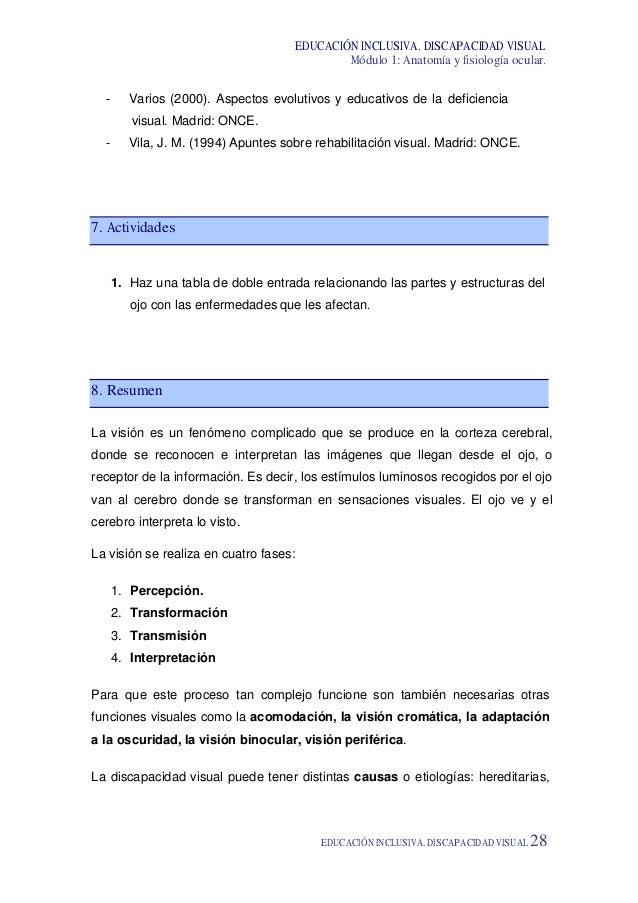 ANATOMIA Y FISIOOGIA OCULAR