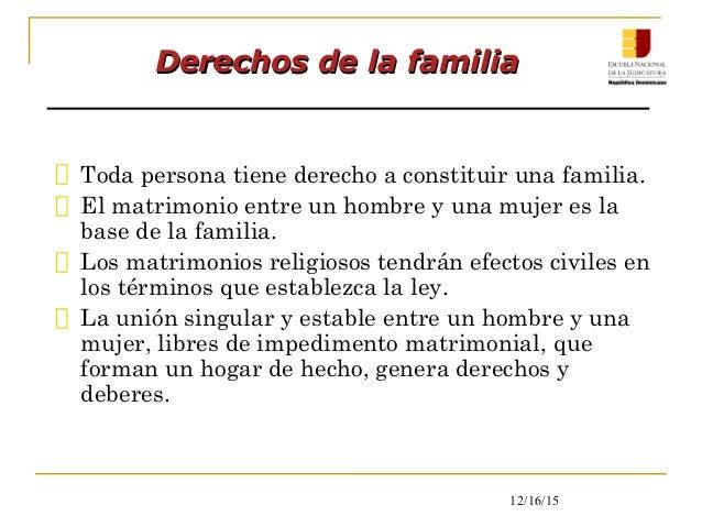 El Matrimonio Catolico Tiene Efectos Civiles : Enj derecho constitucional módulo ii derechos