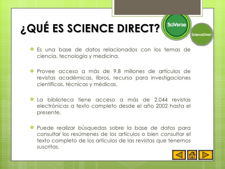 M dulo instruccional sciencedirect for Science dirt